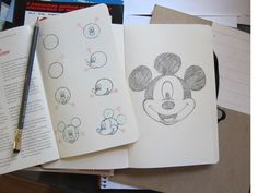 Moleskine Mickey Notebook Plain Large