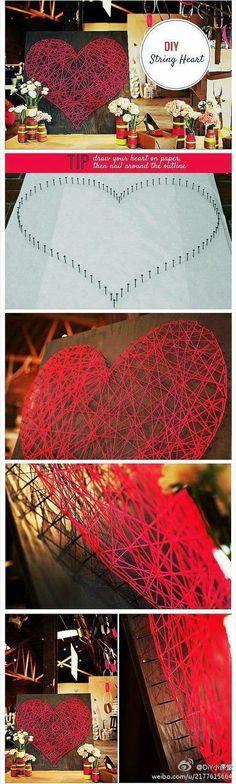 DIY: String Heart