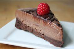 Chocolate Brownie Icecream Cake