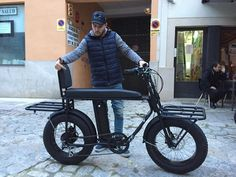 New cool 2018 CaptainCargo version of the UNIMOKE urban utility e-bike Eletric Bike, Three Wheel Bicycle, Montain Bike, Mundo Dos Games, Motorised Bike, Power Bike, Bike Trailer, Cargo Bike, Bike Frame