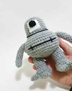 "Space Alien Renton Wool doll of the spaceship ""explorer"" specialist in landing in cots or beds and explorer new worlds"