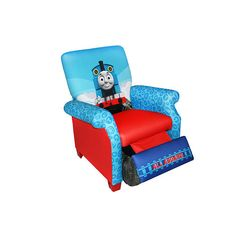Thomas the Train Deluxe Recliner  - Harmony Kids -  Furniture - FAO Schwarz®- Myles would love this!