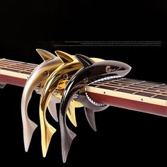 Shark Style Guitar Capo For Folk Electric Acoustic Guitar Accessories