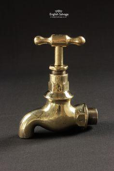 Refurbished Brass Bib Tap