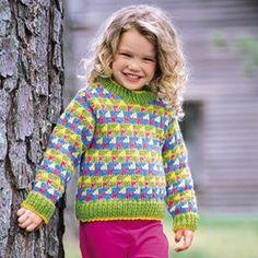 Jazzy Stripes Pullover Knit ePattern