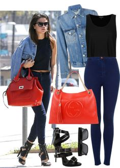 """Steal Her Style: Selena Gomez"" by buse-ciftlik on Polyvore"