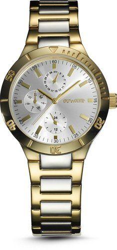 Duward D25702.30 - Reloj de señora, correa de acero en bicolor