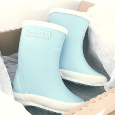 We love the colour of these Bergstein Rainboots