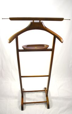 Vintage Mens Valet Stand- Made in Italy SPQR