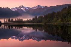 Tranquil - www.patrickmarsonong.com  A sweet, serene and calm morning in Lake Matheson's Reflection Island. This is one of Fox Glacier's must-see location that is well known for the mirror-like reflection of Aoraki/Mount Cook and Mount Tasman.  A reprocessed image that was taken four years ago when I barely knew how to use photoshop. Amazing to look back and see how much we have learned throughout the years. Have a great week guys!