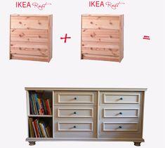 IKEA Hackers: Double Rast Cabinet Hack
