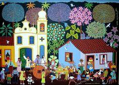 Instituto Internacional de Arte Naif - IIAN: Militão dos Santos IIAN - Arte Naïf Brasileira - Mais de 250 Artistas
