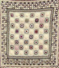 plaids et couvertures crochet - Album photos - Crochet Motifs, Crochet Quilt, Crochet Blocks, Afghan Crochet Patterns, Crochet Squares, Crochet Home, Love Crochet, Crochet Granny, Baby Blanket Crochet