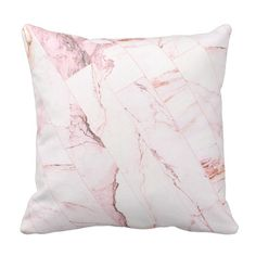 Romantic Floral Faux Fur Statement Cushion
