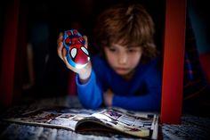Philips Disney Latarka Spiderman 71767/40/16 : Oświetlenie dziecięce : Sklep internetowy Elektromag
