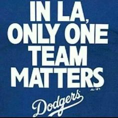 Only one team in LA