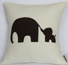 Mommy and Me Mom and Baby Elephant Off white Pink and by Petette, $24.00 by faye
