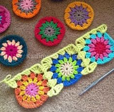 Transcendent Crochet a Solid Granny Square Ideas. Inconceivable Crochet a Solid Granny Square Ideas. Crochet Diy, Crochet Motifs, Crochet Blocks, Love Crochet, Crochet Crafts, Crochet Flowers, Crochet Stitches, Crochet Projects, Crochet Patterns