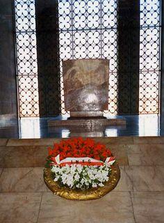 The Grave of Mustafa Kemal Ataturk in Adana, Turkey.