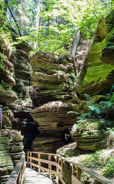 Witches Gulch   Travel   Vacation Ideas   Road Trip   Places to Visit   Wisconsin Dells   WI   Monument   Scenic Point   Natural Feature   Hiking Area