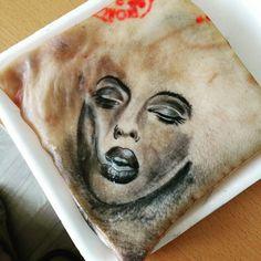 Portrait tattoo smoke