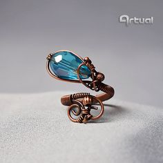 Hey, I found this really awesome Etsy listing at https://www.etsy.com/uk/listing/272111886/adjustable-ring-wire-jewelry-copper-ring