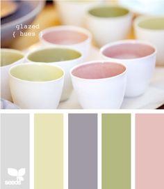 glazed hues