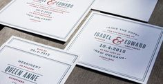 Page Stationery - Letterpress Wedding Suite-   This beautiful stationery line carries semi custom wedding and social stationery. Both letterpress and flat printing options are available. Please contact info@fetestudio.com to learn more or to place your order.