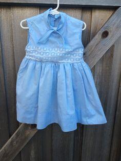 Vintage Girls Dress 3/4T by lishyloo on Etsy