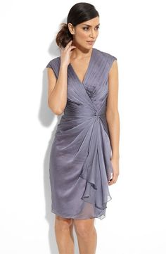 Faux Wrap Mother of the Bride Dress…    Photo Credit Simple, sweet, and sexy just like the mother of the bride! This is a great dress for mothers of any age to feel beautiful in …