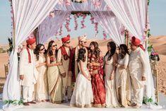 This Stylist's Dreamy Wedding in Abu Dhabi With Her Sabyasachi lehenga Is A Total Must See! - Witty Vows Private Wedding, Dream Wedding, Best Wedding Venues, Wedding Ideas, Destination Wedding Inspiration, Big Fat Indian Wedding, Wedding Function, Indian Wedding Photography, Wedding Groom