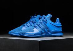 You've seen it in all white, all black, and even all pink, and now the adidas EQT Support ADV gets a colorway in nothing but royal blue. The eye-catching look for the updated re-interpretation of the classic EQT Support '93 … Continue reading →