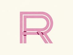 Dribbble RR Monogram by Nate Luetkehans on Designspiration Typography Love, Typography Letters, Graphic Design Typography, Branding Design, Logo Design, Rr Logo, Typo Logo, Monogram Design, Monogram Logo
