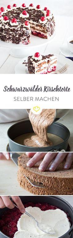 Sie hat einen Schuss und ist die beliebteste Torte der Deutschen: die Schwarzwälder Kirschtorte. Ca. 10 cm hoch, cremige Sahne, fruchtiges Kirschkompott und mit einem ordentlichen Schuss Kirschwasser – so muss er sein, der weltbekannte Klassiker.