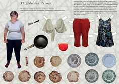 klippdockan - Bing Imágenes - middle-aged female paper doll - heavy, chubby, plus-sized, overweight