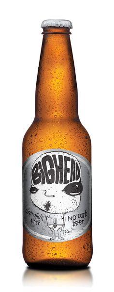 BIGHEAD by Sean Condon, via Behance