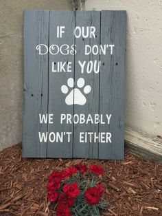 Show the world how much your fur baby means to you! Funny Dog/Cat sign is perfect for the animal lover who wants to show off their furry