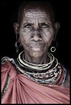 Africa |  Samburu elder from Wamba village / Kenya.  © Mario Gerth.