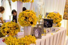 Hoa bàn trang trí tiệc cưới !   http://grandpalace.com.vn/