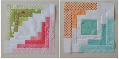 Clover and Violet showcase Converging Corners block for bee-blocks-september, designed by Ashley of Film in the Fridge.
