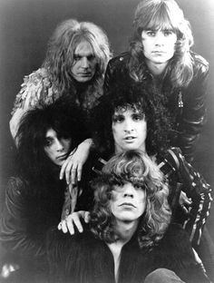 The New York Dolls -  NY Glam band. Very cool. RW