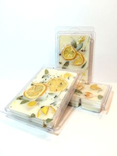LEMON # CAKE-Soy Wax Melts-Super Scented,Soy Melt with real lemons and herbs . Oversized cubes are brimming with essential & aromatic oils! by WiddershinsOnEtsy on Etsy Diy Candles Scented, Handmade Candles, Soy Wax Candles, Round Candles, Diy Wax Melts, Scented Wax Melts, Candle Craft, Candle Packaging, Wax Warmers
