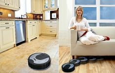Ladies & Gents - great deal; nice to watch something else do the work . . Robo Sweeper floor cleaner