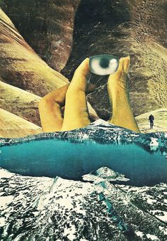 "Caroline Alkire ""National Geographic Collages"" 