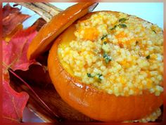 Yummy soup with pastina. butternut squash, fresh thyme, and fresh parmesan cheese. oh, and in a pumpkin. Pastina Recipes, Fall Recipes, Healthy Recipes, Savory Pumpkin Recipes, Small Pasta, Winter Dishes, Roasted Butternut, Butternut Squash, Kitchens