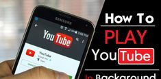 How To Play YouTube Videos In Screen Off Android & iOS Youtube Red, Youtube Songs, Making Youtube Videos, You Youtube, Hacking Apps For Android, Android Hacks, Android Smartphone, Unlock Iphone Free, Click Home