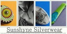 Erin with Sunshyne Silverwear will be at the handmade brigade craft show too :)