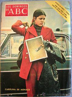 LOS DOMINGOS DE ABC. ENERO 1972. JAIME OSTOS. GERARDO DIEGO, FERNANDO REY, CAROLINA DE MONACO, CHINA (Coleccionismo - Revistas y Periódicos Modernos (a partir de 1.940) - Los Domingos de ABC)
