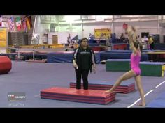 Drills for Better Roundoffs - Tammy Biggs
