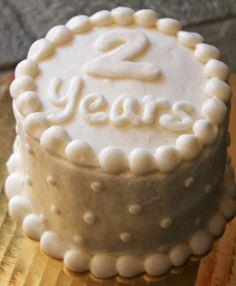 cute anniversary cake